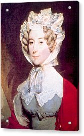 Louisa Adams 1775-1852, First Lady Acrylic Print by Everett