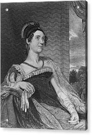Louisa Catherine Adams Mrs. John Quincy Acrylic Print by Everett