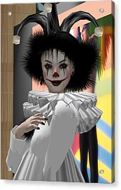 Louise Pagliacci Acrylic Print by Phil Strang
