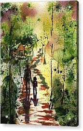 Louisiana Bayou Acrylic Print by Sharon Mick