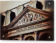 Acrylic Print featuring the photograph Louisiana State Museum Cabildo by Jim Albritton
