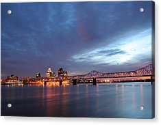 Louisville Kentucky Acrylic Print by Darren Fisher