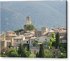 Acrylic Print featuring the photograph Lourmarin In Provence by Carla Parris