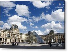 Louvre Museum. Paris Acrylic Print