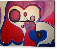 Love - To Have A Feeling Of Intense Desire And Attraction Toward. Acrylic Print by Cory Green