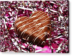 Love And All That Glitters Acrylic Print by Andee Design