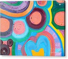 Love Circle Acrylic Print
