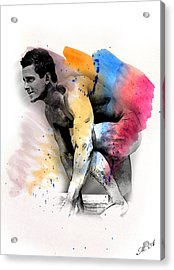 Love Colors - 2 Acrylic Print by Mark Ashkenazi