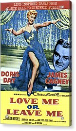 Love Me Or Leave Me, From Left Doris Acrylic Print by Everett
