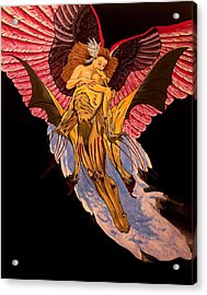 Love Never Dies Acrylic Print by Shawn OLeary