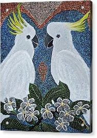 Love Of The Cockatoos Acrylic Print