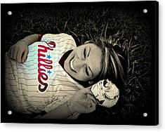 Love Of The Game Acrylic Print by Ashley Branstetter