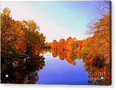Love The Fall Acrylic Print