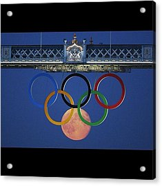 Love The #olympics #london2012 Acrylic Print by Cyril Attias
