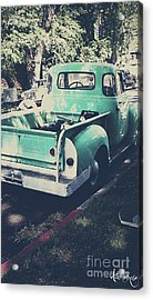 Love The Truck Acrylic Print by Awildrose Photography