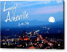Lovely Asheville Acrylic Print