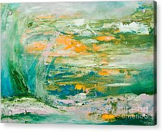 Lover's Land Of Hope Acrylic Print by Martina Dresler