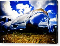 Low Ford Roadster Acrylic Print by Phil 'motography' Clark