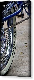 Low Rider In Blue Acrylic Print by Tam Graff