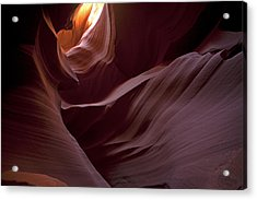 Lower Antelope Eleven Am On The Dot Acrylic Print by Gregory Scott