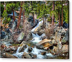 Lower Eagle Falls Emerald Bay Lake Tahoe Acrylic Print by Scott McGuire