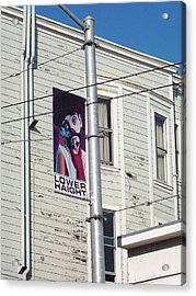 Lower Haight Acrylic Print by Jimi Bush