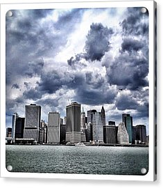 Lower Manhattan Skyline Acrylic Print