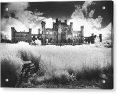 Lowther Castle Acrylic Print by Simon Marsden