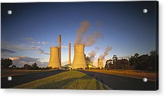 Loy Yang Power Station, Coal Burning Acrylic Print by Jean-Marc La Roque