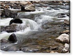 Loyalsock Creek Gentle Rapids Acrylic Print