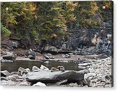 Loyalsock Creek In The Fall Acrylic Print