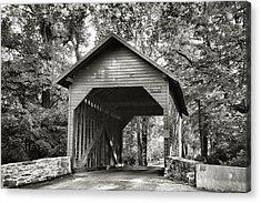 Loy's Station Bridge II Acrylic Print by Steven Ainsworth
