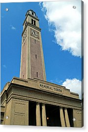 Lsu Memorial Tower Acrylic Print by Replay Pgotos