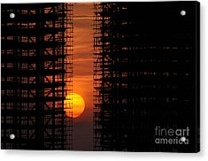 Luanda - Angola Acrylic Print by Armando Carlos Ferreira Palhau