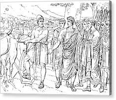 Lucius Cincinnatus Acrylic Print by Granger