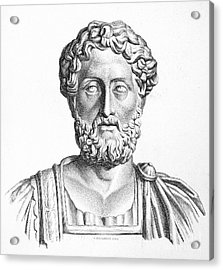 Lucius Commodus (161-192 A.d.) Acrylic Print by Granger