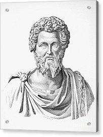 Lucius Septimius Severus Acrylic Print by Granger