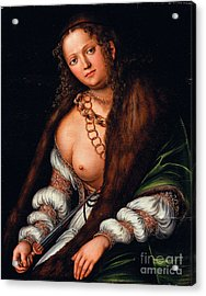 Lucretia  Acrylic Print by Pg Reproductions