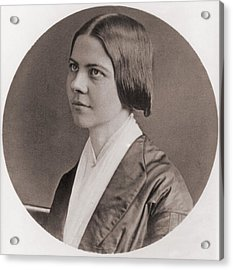 Lucy Stone, 1818-1893, American Acrylic Print by Everett