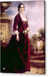 Lucy Ware Webb Hayes 1831-1889, First Acrylic Print by Everett