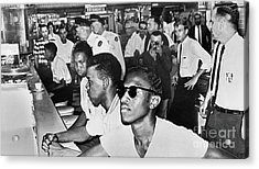 Lunch Counter Sit-in, 1961 Acrylic Print by Granger