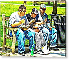 Acrylic Print featuring the photograph Lunchtime by Alice Gipson