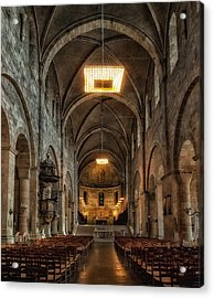 Lund Cathedral Acrylic Print by Wade Aiken
