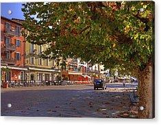 Lungolago Ascona Acrylic Print by Joana Kruse