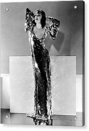 Lupe Velez, Ca. Early 1930s Acrylic Print by Everett
