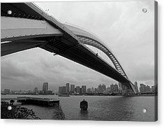 Lupu Bridge Acrylic Print by YGLow