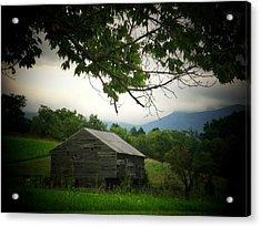 Luray Barn Acrylic Print