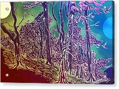 Lymphoy Fantasy Sketch Acrylic Print