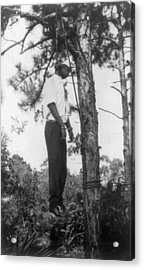 Lynched African American Man Hanging Acrylic Print