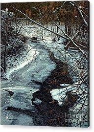 Lynde Creek Acrylic Print by Robert Hinves
